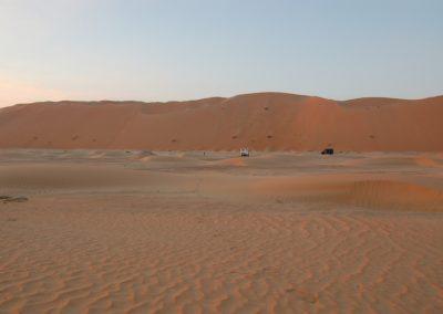 Beeindruckende Dünen südlich der Liwa-Oasen, UAE