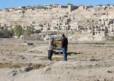 Blick auf die Ruinenstadt