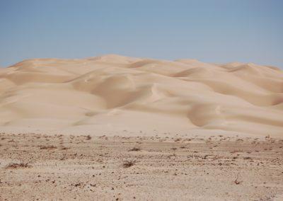 Dünen in der Rub-al-Khali, das leere Viertel