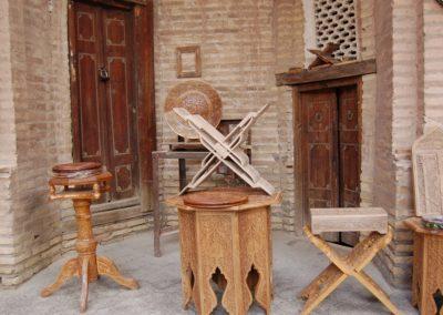Das Kunsthandwerk von Chiva ist berühmt