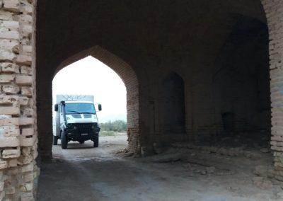 Einfahrt in die Karawanserei