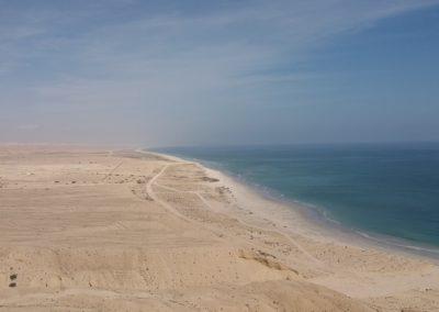 Kilometer langer Sandstrand (ohne Hotel)