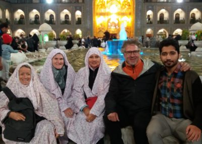Lotti, Beatrice, Brigitte, Daniel. Ahmed