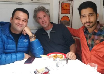 Mit Ahmed und Ahmed im T-Rex