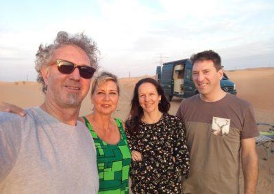 Mit Silvia und André unterwegs