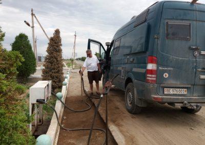 Tanken in Usbekistan