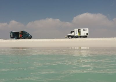 Traumplatz am weissen Sandstrand