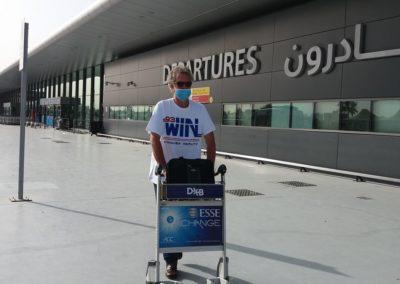Wenig Betrieb im Flughafen Dubai