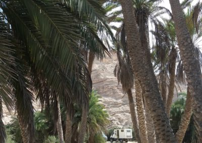 Übernachten im Wadi Suneik