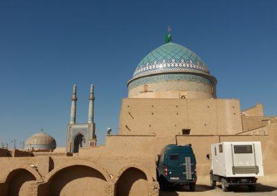 Übernachten in der Altstadt von Yazd
