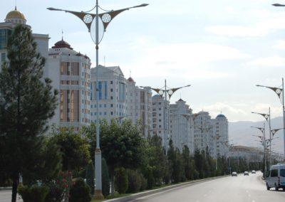 Apartmenthäuser ohne Menschen
