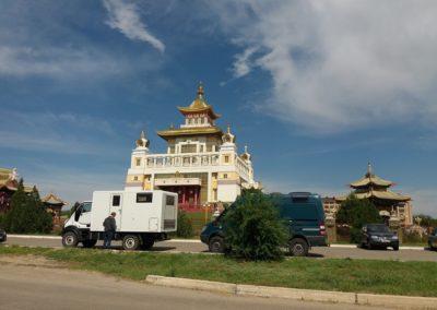 Buddhistischer Tempel in Elista
