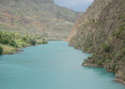 Canyon vor dem Toktogul-See