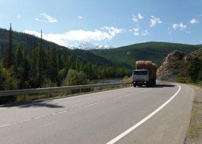 Der Chuisky-Trakt, 500 km entlang von Flüssen, Bergen und Wäldern