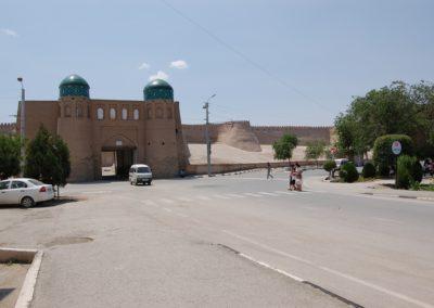 Der Nordeingang zur Altstadt von Chiva