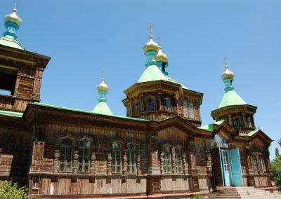 Die Holzkirche von Karakol