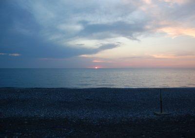 Die letzte Nacht in der Türkei direkt am Schwarzen Meer