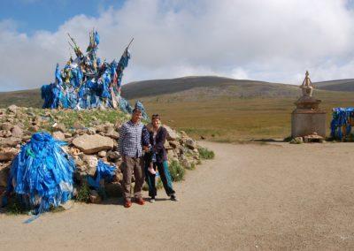 Eines der zahlreichen Ovos in der Mongolei