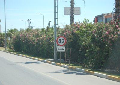 Höchstgeschwindigkeit 82 kmh!