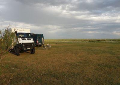 In der Kasachischen Steppe
