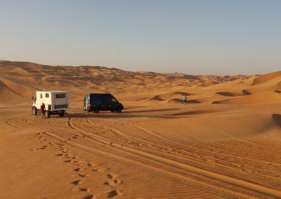 In der Rub al Khali, UAE