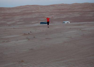 In der Wahibah-Wüste