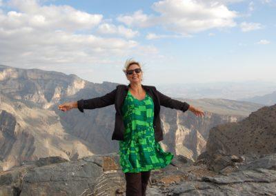 Jabel Shams, der höchste Berg im Oman