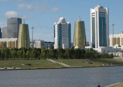 Nur-Sultan (früher Astana) die moderne Hauptstadt Kasachstans
