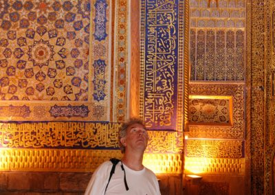 Samarkand, wo schaut er hin? . . .