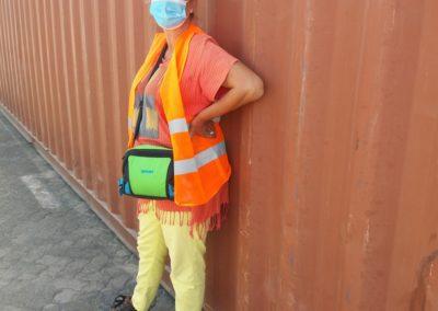 Sicherheitskleidung inkl. Stahl-Cap