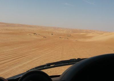 Wir durchqueren die Wüste Ramlat al Wahiba